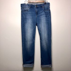 Kut from the Kloth Boyfriend Cropped Jeans